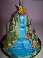 Childrens Birthday Cakes - Lion King Wedding Cake